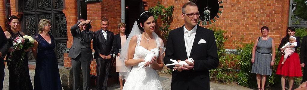 Hochzeitstauben-MV Hochzeit